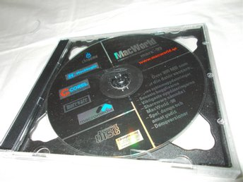 MacWorld Mars 1999 Svensk Demo CD ROM