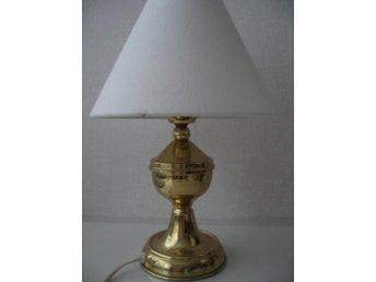 RBA äldre lampa med skärm bordslampa fönsterlampa H: 30 cm - Stockholm - RBA äldre lampa med skärm bordslampa fönsterlampa H: 30 cm - Stockholm