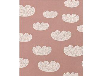 Ferm living Cloud rosa tapet nr 2 - Brämhult - Ferm living Cloud rosa tapet nr 2 - Brämhult