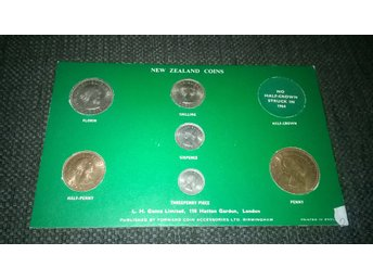 New Zealand coins sets 1964