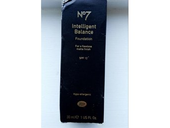 Boots no7 intelligent balance foundation 45 walnut julklappstips - Tyresö - Boots no7 intelligent balance foundation 45 walnut julklappstips - Tyresö