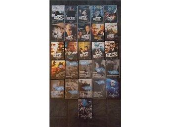 *** 26 ST DVD BECK SAMLING FRÅN NR 1-26 *** FRI FRAKT - Lesjöfors - *** 26 ST DVD BECK SAMLING FRÅN NR 1-26 *** FRI FRAKT - Lesjöfors