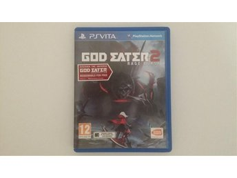 God Eater 2 Rage Burst + Resurrection PS Vita + PS4 kod [inplastat]