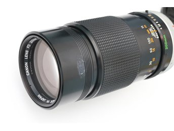 Canon FD 200mm 1:4 S.S.C.