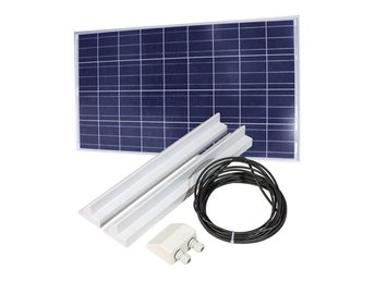 Solpanel 120W med solpanelkit 68cm