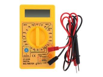 LCD-automatisk räckvidd AC DC Digital Voltmeter Ammeter Ohmmeter Multimeter Volt - Hörby - LCD-automatisk räckvidd AC DC Digital Voltmeter Ammeter Ohmmeter Multimeter Volt - Hörby