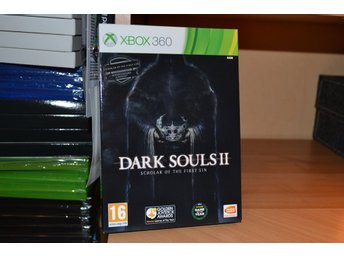 Dark Souls II: Scholar of the first sin Xbox 360 Nytt Inplastat X360 Se Hit!