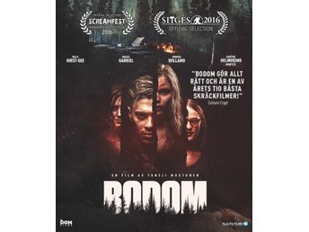 BODOM (2016) Blu-ray Slasher/gore! Sv. text  *Ny & Inplastad*
