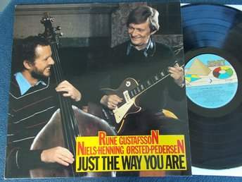 RUNE GUSTAFSSON /NIELS-HENNING ØRSTED-PEDERSEN - Just the way you are LP Sonet