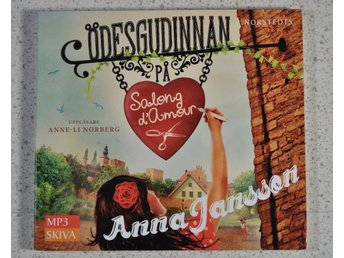 Ödesgudinnan Av Anna Jansson  (mp3 cd)