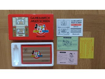 Game & Watch Multi Screen Mickey & Donald