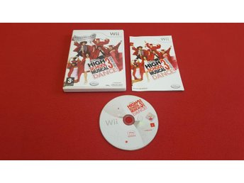 HIGH SCHOOL MUSICAL 3 DANCE till Nintendo Wii
