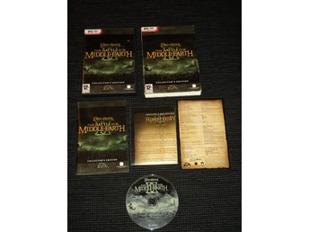 PC Battle For Middle Earth 2 II Saknar playdisc! Kompleteringsex!