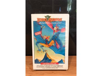 Dino Riders | Dinoriders | Tecknat VHS | New World International 1988