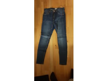 Jeans highwaist stretch blåjeans högmidja