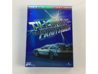 Universal, DVD-Box, Back To the Future 1, 2, 3 och Bonus disc