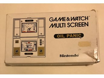 Nintendo - Game & watch - Oil Panic