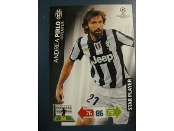 STAR PLAYER -  ANDREA PIRLO -  JUVENTUS - CHAMPIONS LEAGUE 2012-2013