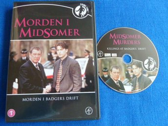 MORDEN I MIDSOMER, MORDEN I BADGERS DRIFT,  DVD, FILM