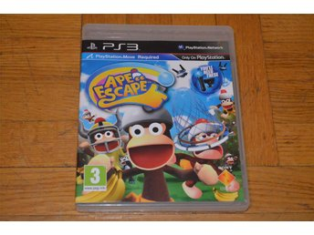 Ape Escape - Playstation Move Spel - Playstation 3 PS3