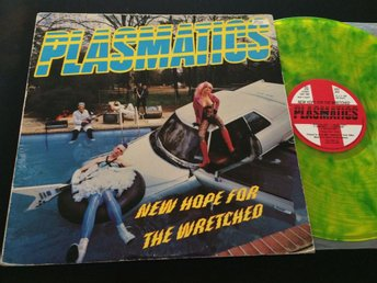 PLASMATICS new hope fOr the wretched LP -80 UK STIFF SEEZ 24 rare