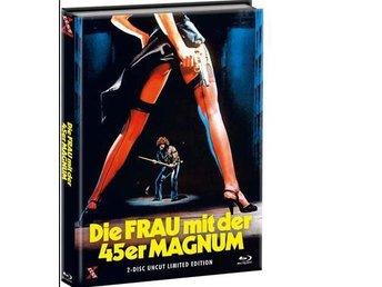 MS. 45 (1981) (LMTD MEDIABOOK 999 ex DVD BLURAY) Zoë Lund (KULTFILM) UNCUT - Norrsundet - MS. 45 (1981) (LMTD MEDIABOOK 999 ex DVD BLURAY) Zoë Lund (KULTFILM) UNCUT - Norrsundet