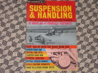 Suspension & Handling Hot Rod Handbook Ford 1934 Dragsters Ford 1951