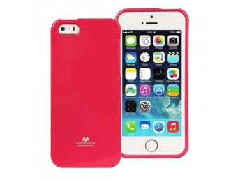 Mercury Jelly Case Apple iPhone 5,5S,5SE Färg: Rosa