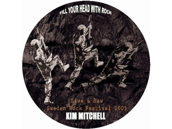 "KIM MITCHELL 'Live & Raw' 2007 Swedish limited 10"" EP"