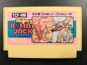 Mighty Bomb Jack till Famicom - Tecmo