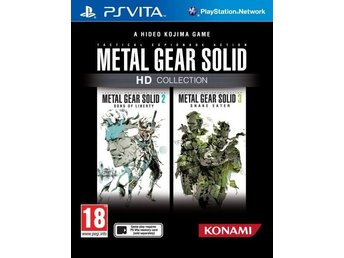 Metal Gear Solid: HD Collection - PS Vita