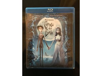 Corpse Bride -  Blu-ray disc