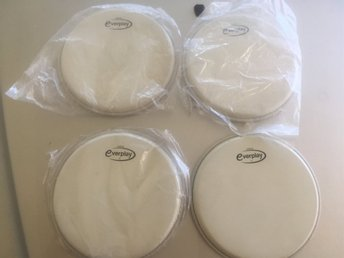 Drumheads  Everplay Coated 01 4st
