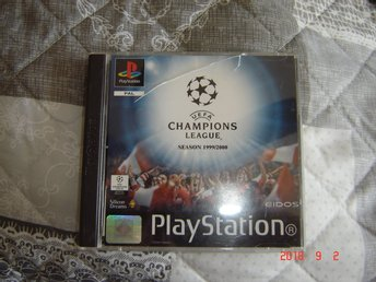 UEFA Champions league Playstation 1 spel
