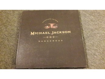 MICHAEL JACKSON - DANGEROUS  - COLLECTIONS EDITION -FIRST PRINTING - POPUP