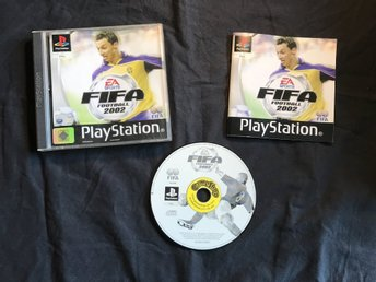 FIFA FOOTBALL 2002  PLAYSTATION 1 PS1 PSONE  EA SPORTS ZLATAN
