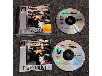 PS1/Playstation - Command and Conquer - PAL/EU komplett