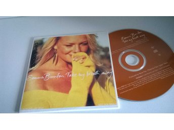 Emma Bunton - Take my breath away, single CD, promo