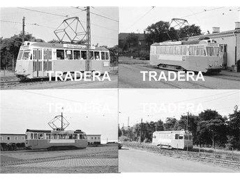 Hälsingborgs Spårvägar 1967, 12 st sv-v fotografier, serie 1 - Danderyd - Hälsingborgs Spårvägar 1967, 12 st sv-v fotografier, serie 1 - Danderyd