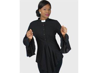 HOUSE OF ILONA Esther Clergy Blouse pastor präst tunika NY! passar även gravid - Värnamo - HOUSE OF ILONA Esther Clergy Blouse pastor präst tunika NY! passar även gravid - Värnamo