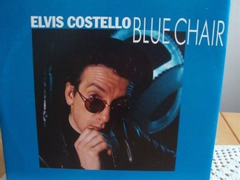 ELVIS COSTELLO Blue chair
