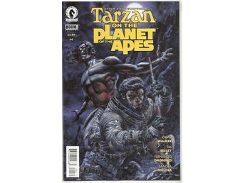 Tarzan on The Planet of The Apes # 4 NM Ny Import