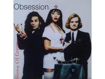 Army Of Lovers title*  Obsession* Euro House Swe 7""