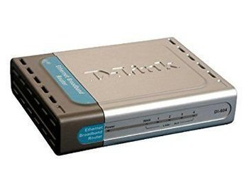 D-link router di-604 - nyskick!