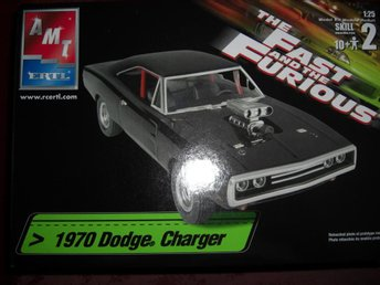 "AMT 1970 Dodge Charger ""The Fast & The Furious"", skala 1:25"