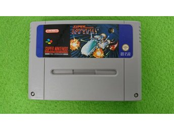 Super R-type SCN Super Nintendo Snes