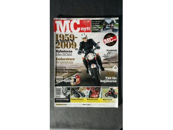 MC-Nytt nr 1 2009: Yamaha XVS 950 A, Buell 1125CR, Ducati Monster 1100 + 696