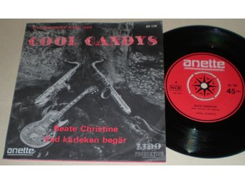 Cool Candys 45/PS Beate Christine 1967