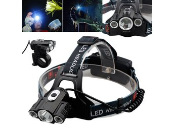 6000Lumens CREE 3 x T6 LED Headlamp Headlight Torch Head Lamp