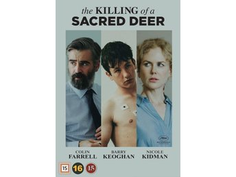 The Killing of a Sacred Deer 2017 115 Min   DVD  Ny